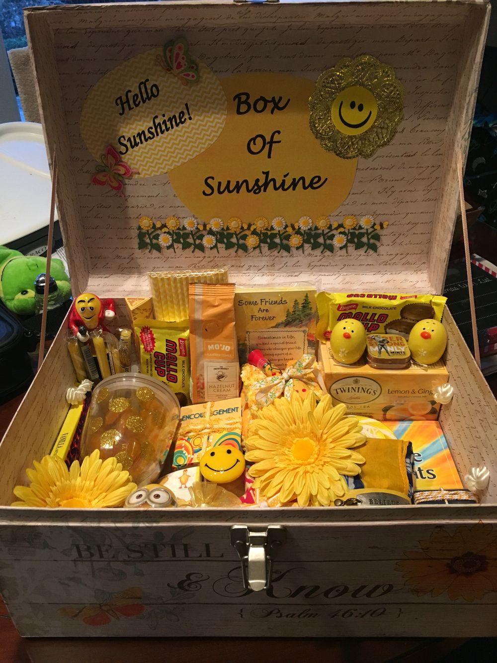 Box Of Sunshine Gift Ideas Diy Gifts For Boyfriend Diy