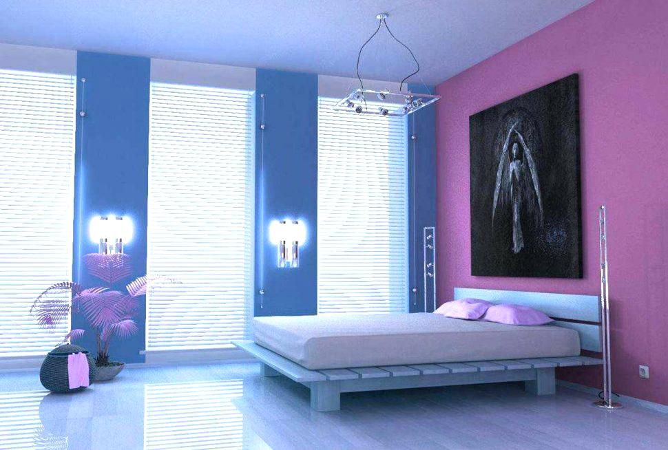 House Painting Colour Combinations Blue And Purple Bedroom Home Inspirations Outstanding Violet With Images Blue Bedroom Colors Beautiful Bedroom Colors Purple Room Decor