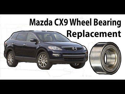 Wheel Bearing Hub Replacement Mazda Cx Or Ford Edge Youtube