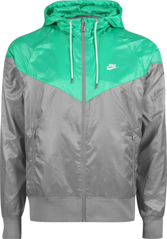 Nike Windrunner W windbreaker grey green