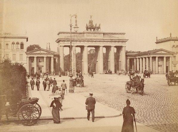 Berlin 1880 Brandenburger Tor Berlin Historische Fotos