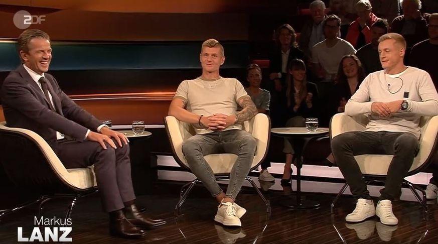 Toni Kroos Redet Uber Abende Bei Cristiano Ronaldo Weil Markus Lanz Ihn Zwingt Watson Ronaldo Toni Kroos Cristiano Ronaldo