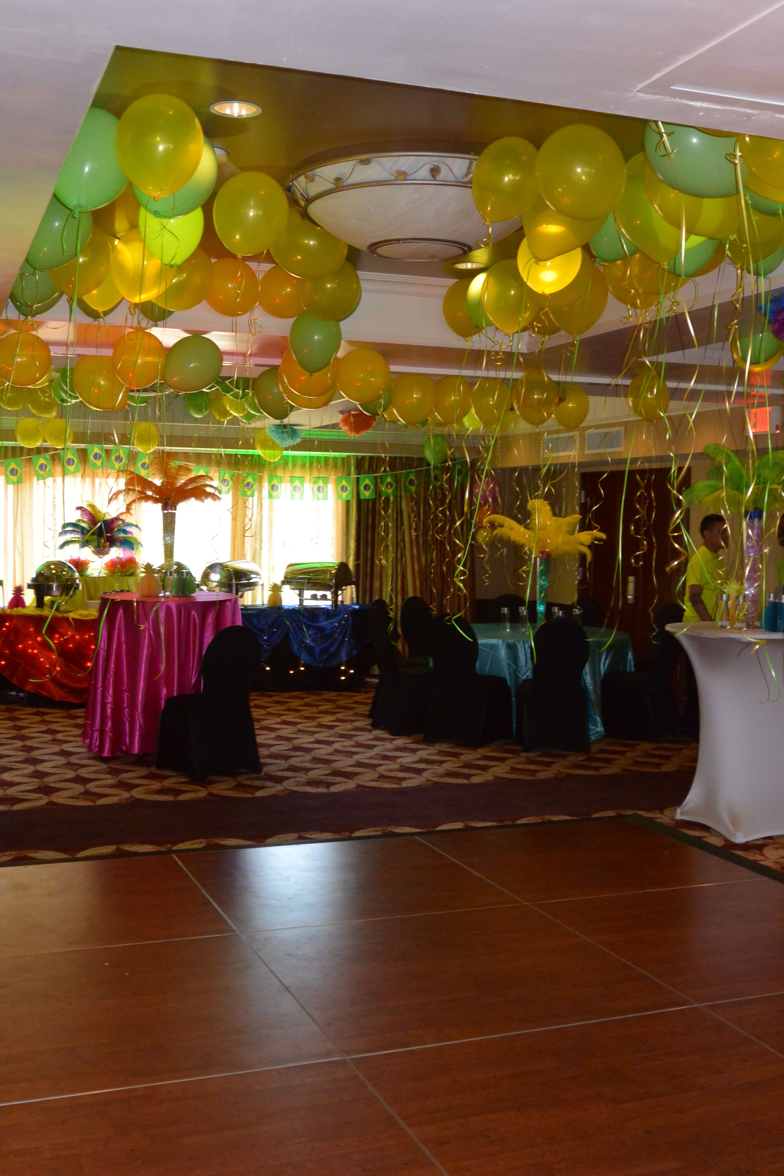 Viana hotel spa 2015 client appreciation party rio carnival theme rio carnival decorations - Carnival theme party for adults ...