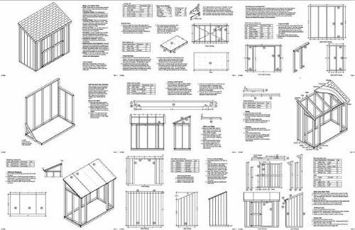 Need Shed Plan Free 8 X 6 Lean To Shed Plans Shed Building Plans Lean To Shed Plans Building A Shed