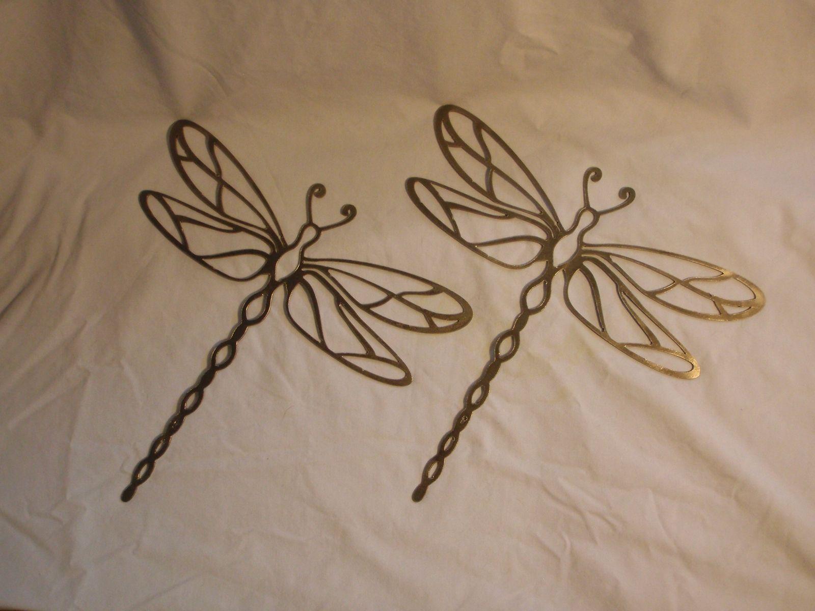 Dragonfly in flight metal garden art metal walls etsy