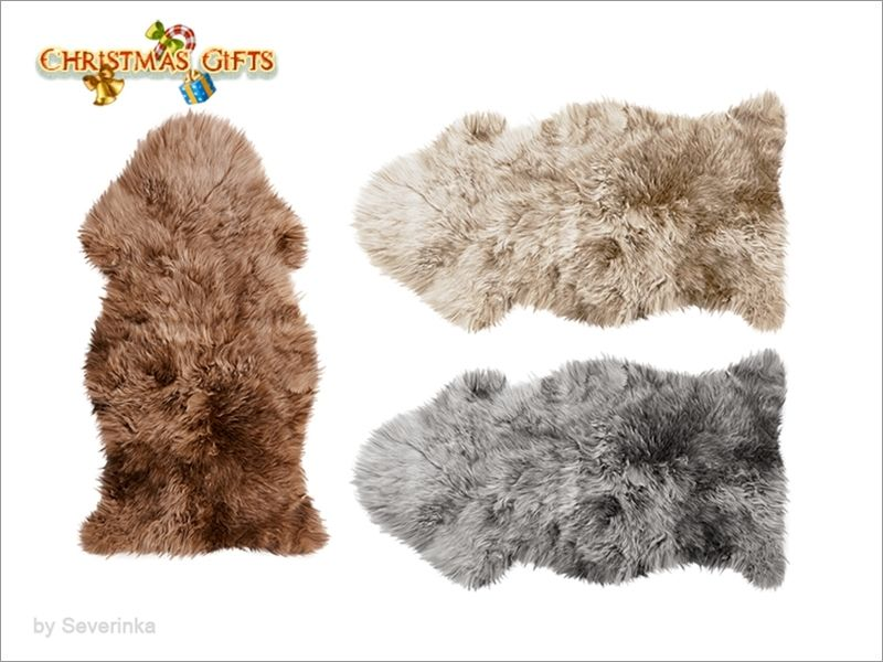 Fur rug Found in TSR Category 'Sims 4 Rugs' | Rugs and