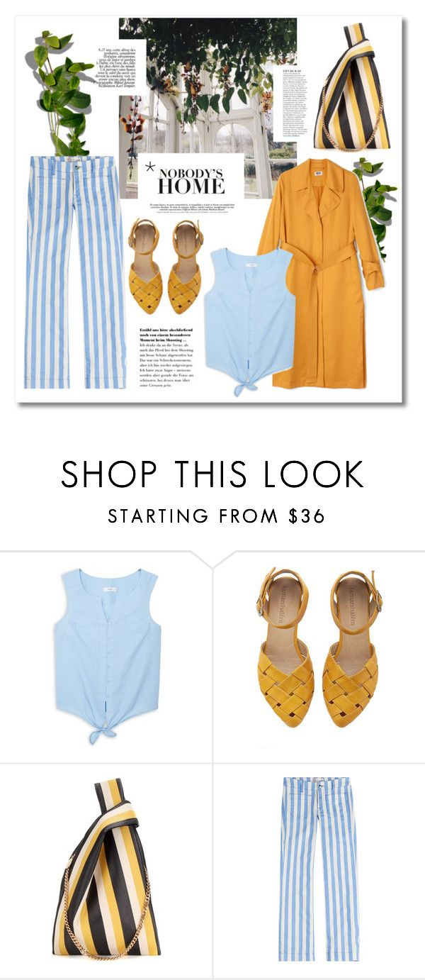 """""""The green room"""" by vigilexi ❤ liked on Polyvore featuring Anja, MANGO, STELLA McCARTNEY and The Seafarer"""