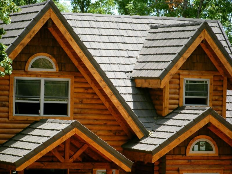View pictures of the different residential metal roofing