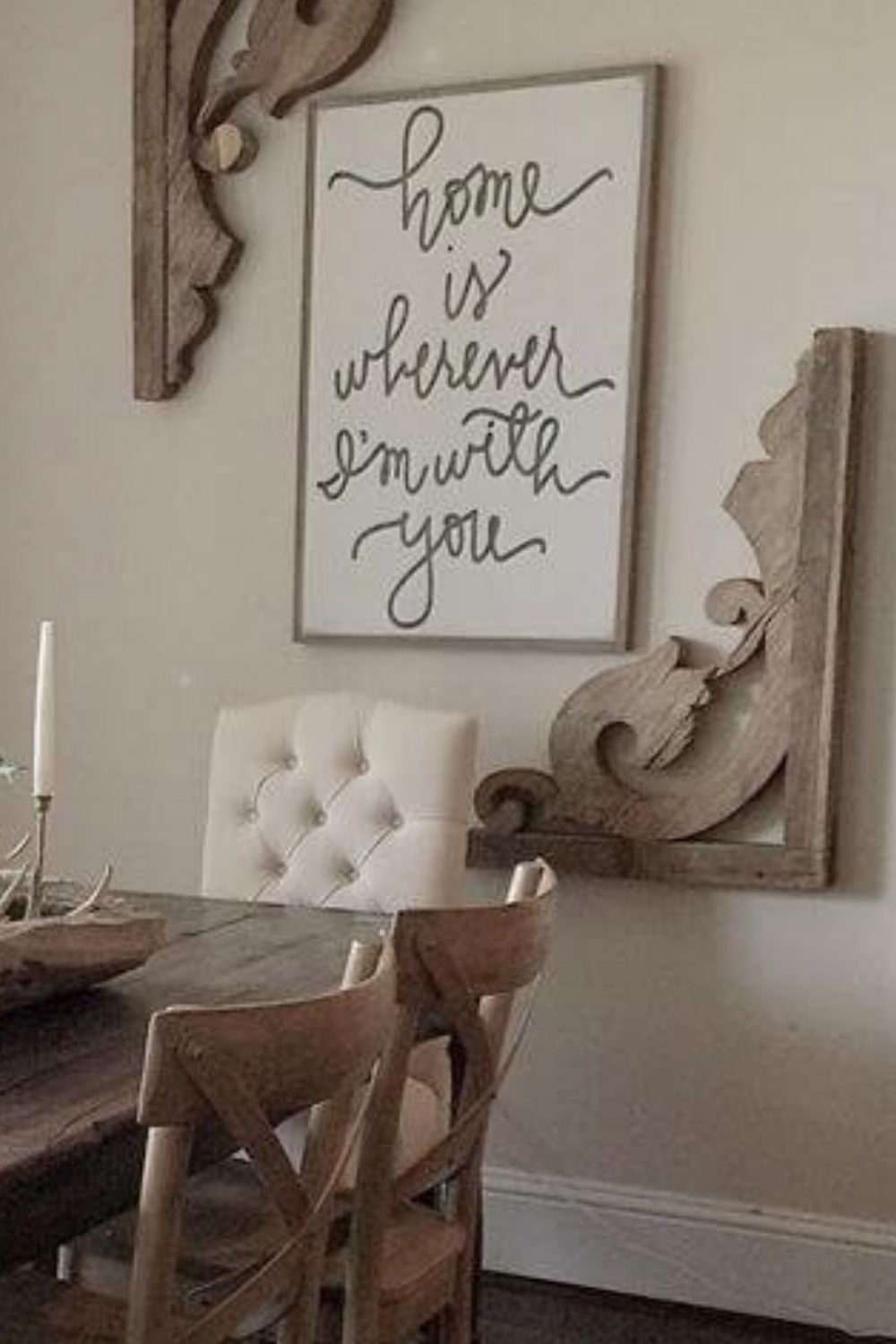 Living room Art Design Decorative arts Wall Text in 9  Dining