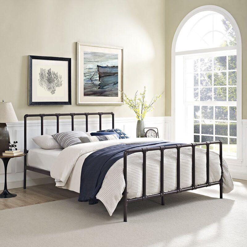 Esther Queen Platform Bed in 2020 Bed frame