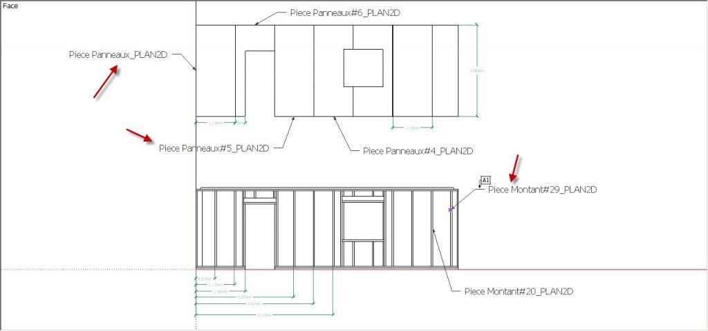 Présentation du plug-in 20 ossature bois pour Sketchup partie 10 - logiciel pour plan de maison
