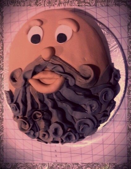 Beard Cake My Projects Pinterest Cake And Food