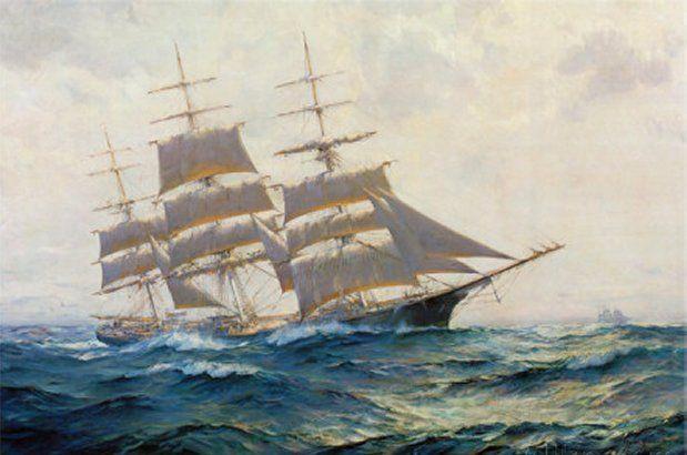 Toward Far Horizons, Ship Triumphant by Frank Vining Smith