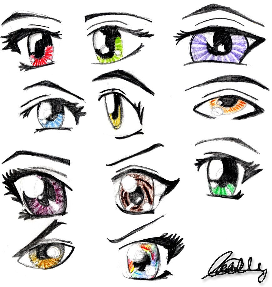 My Favorite Part To Draw Is The Eyes Anime Manga Drawings Anime
