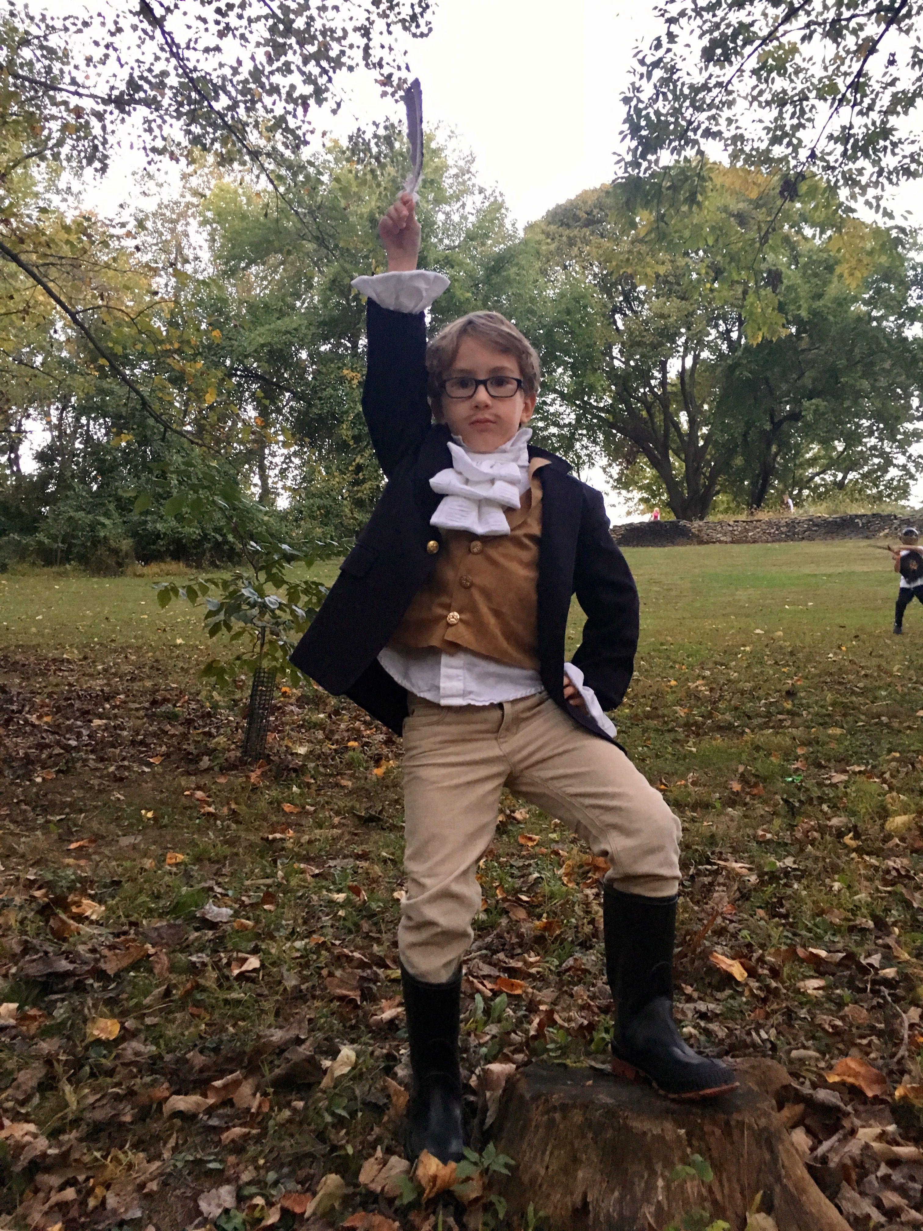 Alexander Hamilton Costume Halloween Diy Halloween