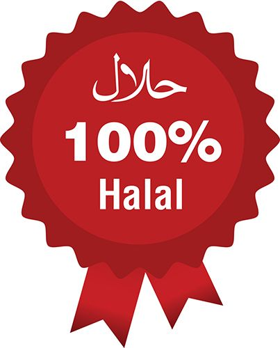 Logo 100% Halal : halal, Muslim, Owners, Companies, Establishments,, Employees, Workers,, Engaged, (things, Which, Are…, Kartu, Nama,, Desain,
