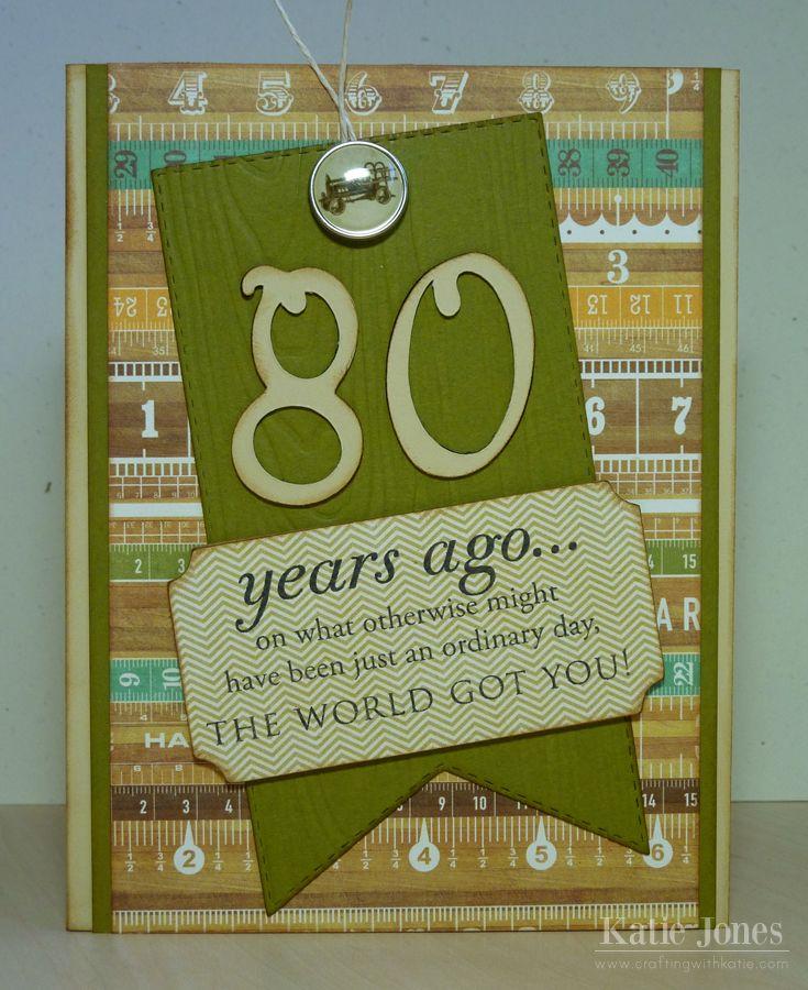 Happy Birthday Card Small Card 90th Birthday Small Card Hand Lettered Card Ninetieth Birthday Card Gold Foil Card SCC34