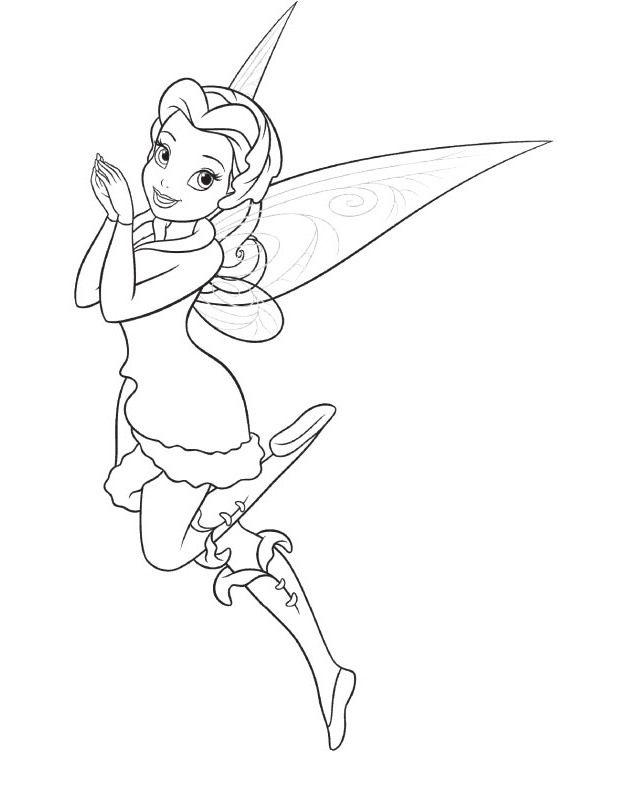 rosetta the fairy coloring pages tinkerbell coloring pages kidsdrawing free coloring pages online