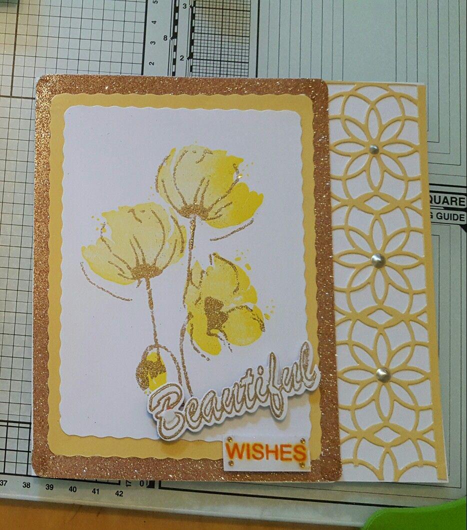 Beautiful Yellow Card I Card Cards Decor