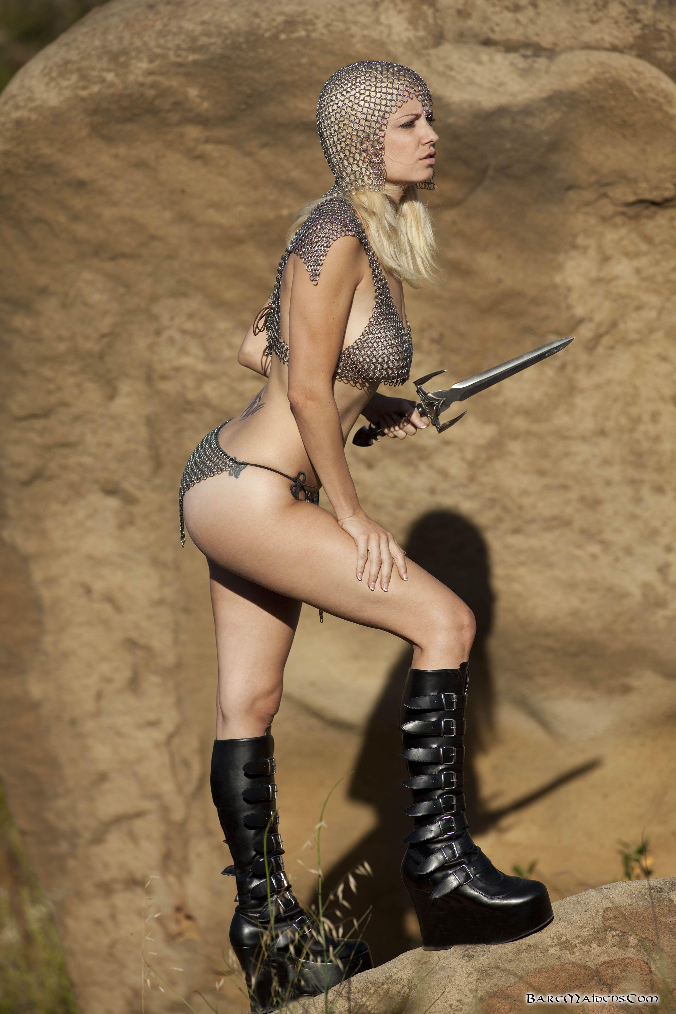 Heavy Warrior  Warrior Woman, Bare, Pics-4060