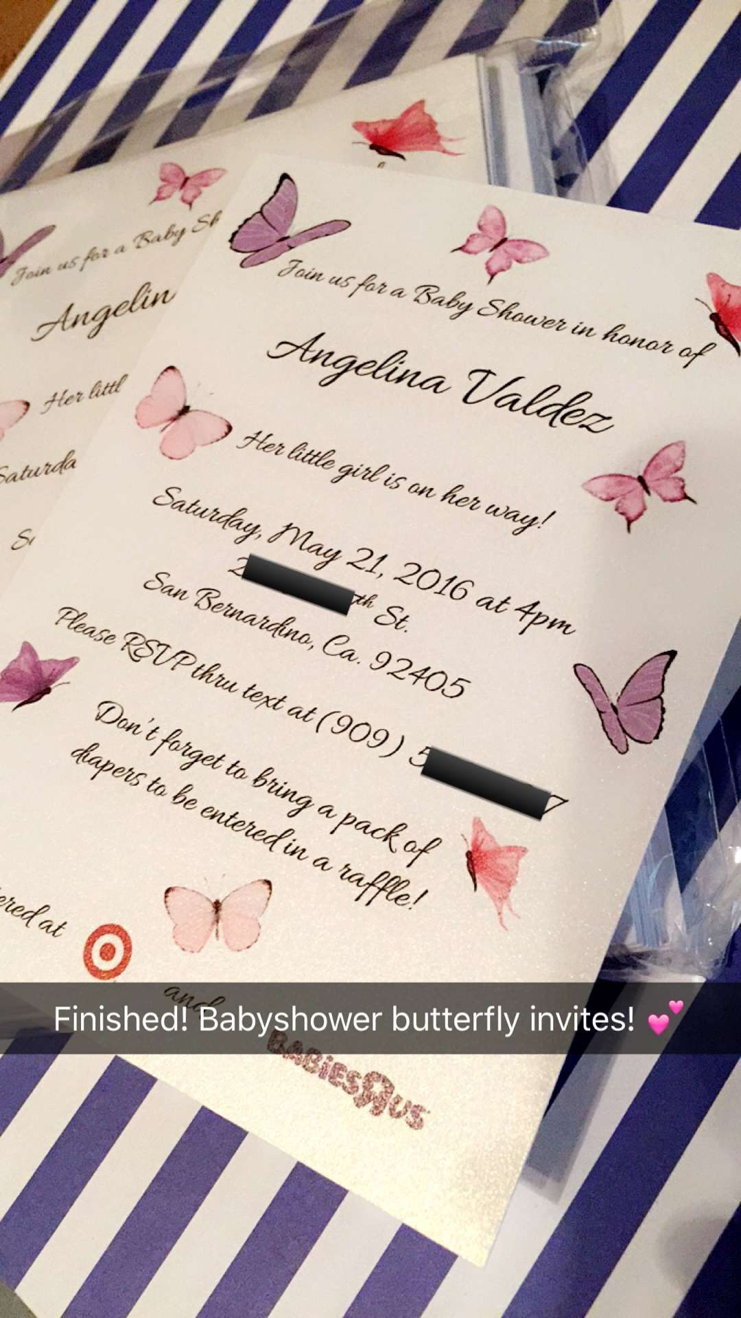 boy baby shower invitations australia%0A Baby shower butterfly invitation