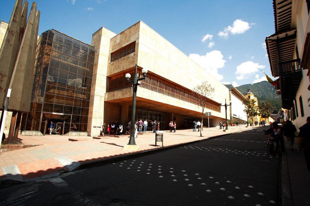Luis Angel Arango Library. Bogota, Colombia