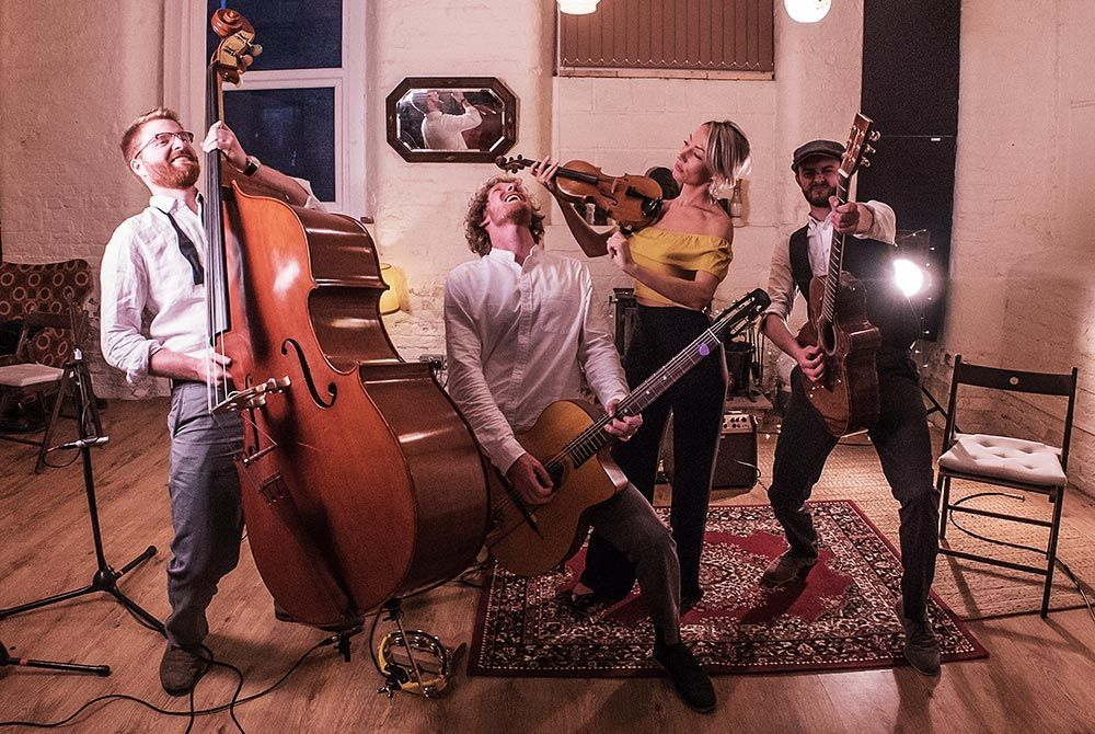 Gypsy Jazz Band Based In The North West