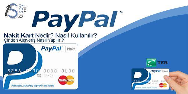 PayPal Kart Incelemesi - Bisey.NET