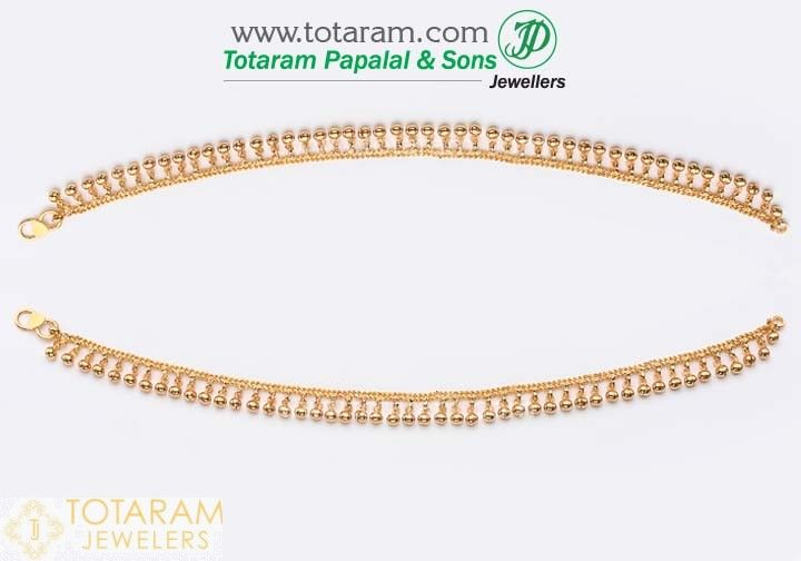 anklets layered gold shop fancy tone finish filled polished jewelry def inch milanus anklet en milanustt plated