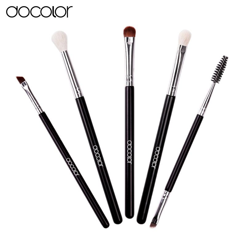 Docolor Eye Makeup Brushes Set Eyeshadow Blending Brush Powder Foundation Eyeshadading Eyebrow Lip Eyeliner Brush Cosmetic Tool