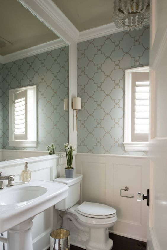 Photo of 10 Reasons to Wallpaper Your Bathroom | Decoholic