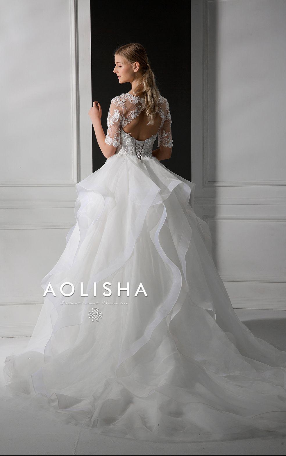 Aolisha wedding gown