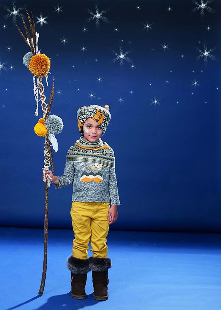 Kid's winter fashion inspired by the Northern lands at The Bonnie Mob