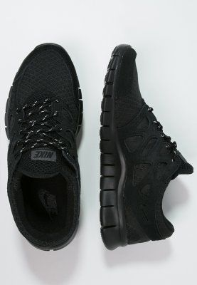 Nike Sportswear FREE RUN 2 - Sneakers laag - black/dark grey - Zalando.
