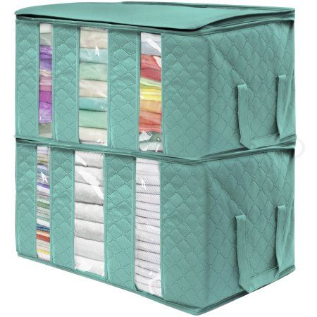 5f0c7deb7bc7 Sorbus Foldable Storage Bag Organizers, 3 Sections, Great for ...