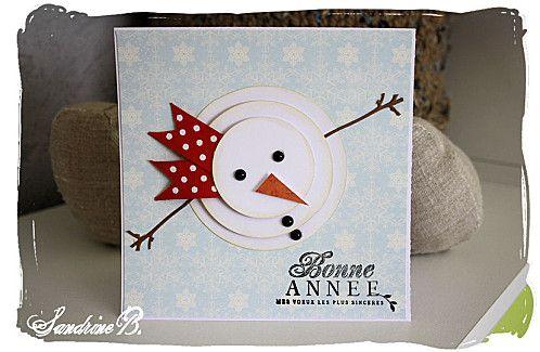 carte bonhomme de neige Mon bonhomme de neige | Carte noel, Cartes de noël pour enfants et