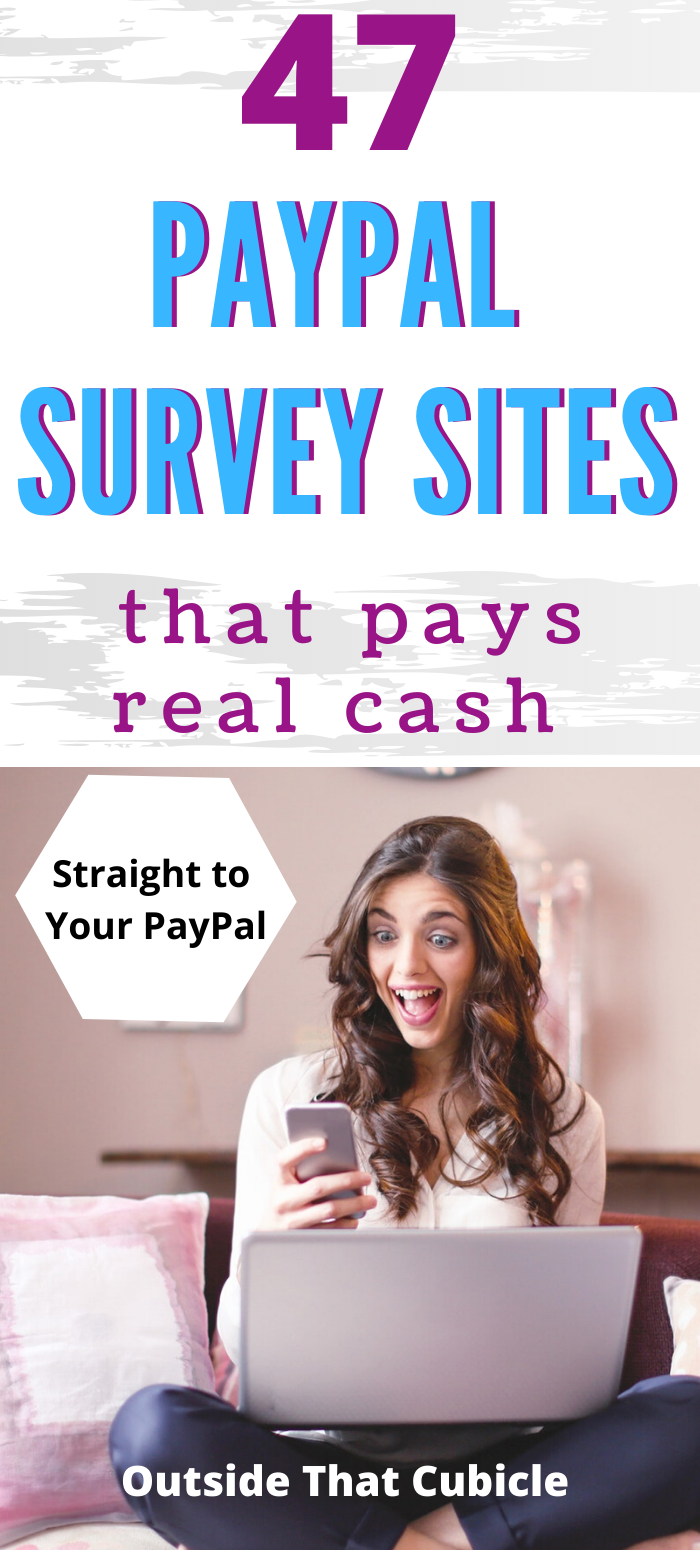 47 Survey Sites That Pay With PayPal (2020 List) in 2020