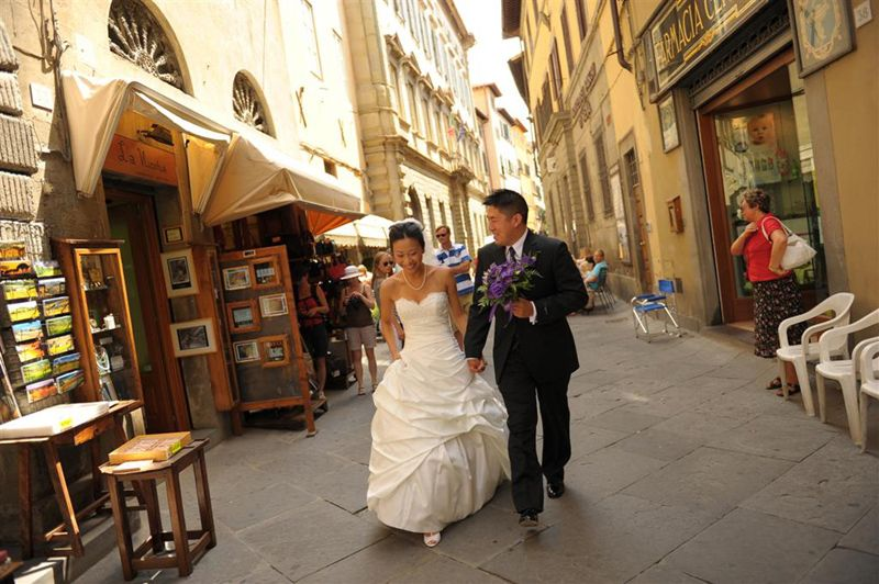 Italy can be perfect for an elopement or wedding with family and friends