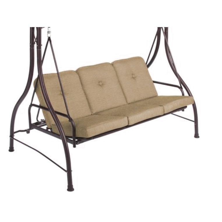 Mainstays Lawson Ridge Swing Replacement Cushion Beige