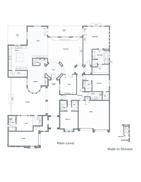 Mesa Floor Plan Henry Walker Homes Floor Plans My Dream Home