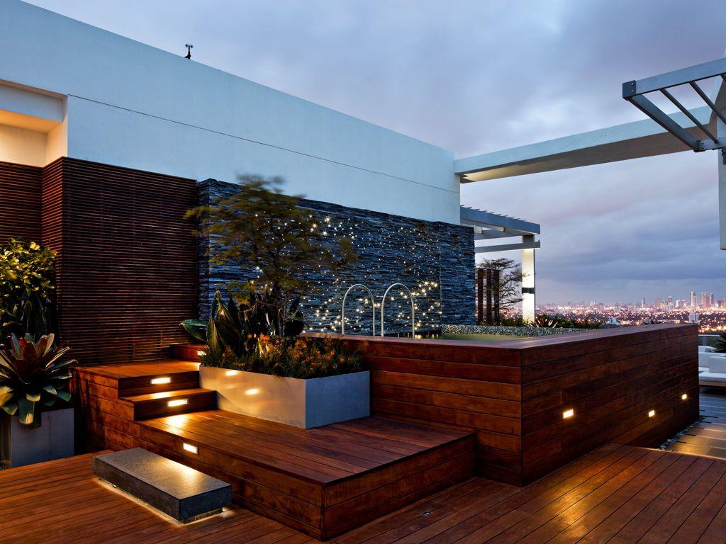 Jacuzzi En La Terraza Diseño De Terraza Diseño De