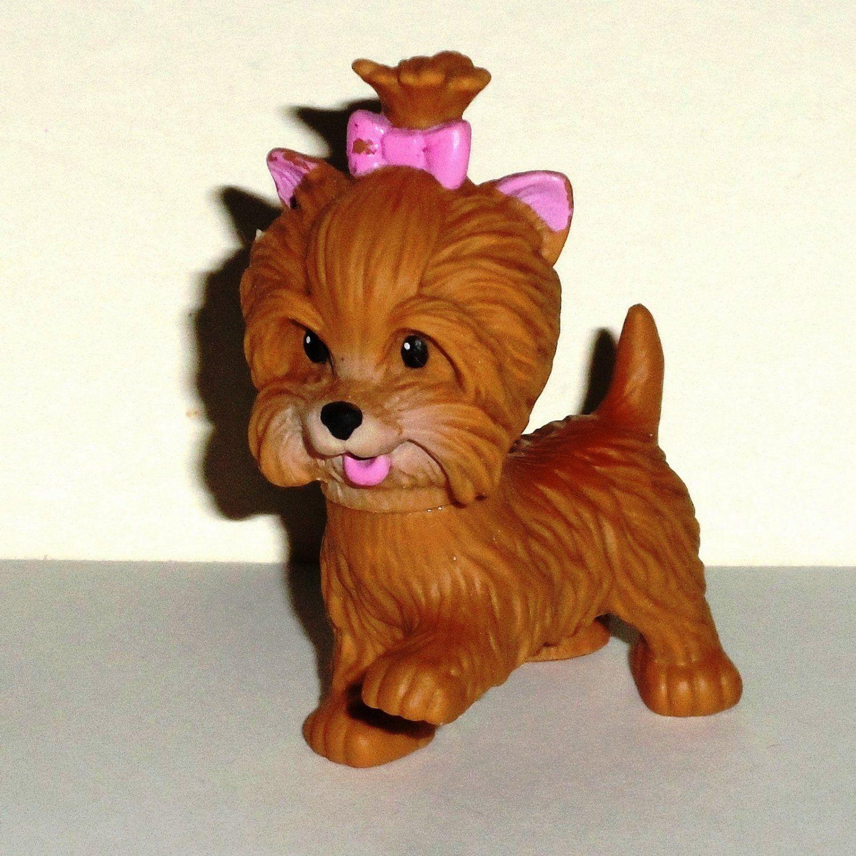 Barbie Yorkie Puppy From Potty Training Pups Set Mattel