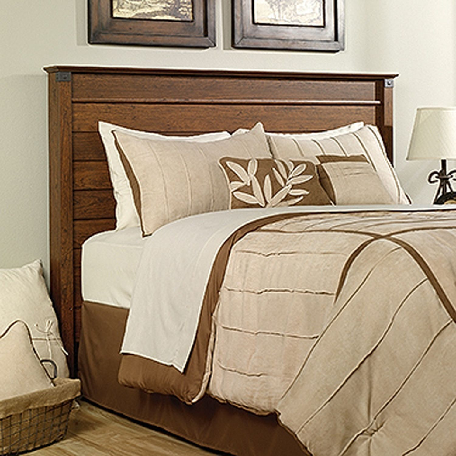 Carson Forge Full Queen Panel Headboard Bed Furniture Bedroom