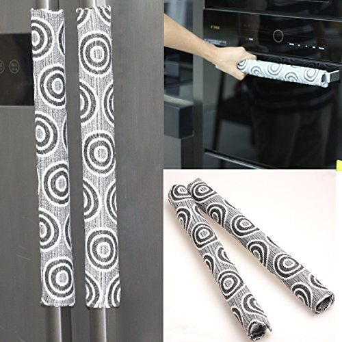 Ougar8 Handmade Refrigerator Dust Door Handle Cover Catch