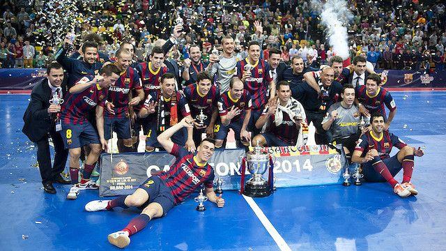 Los campeones de la Copa del Rey. FOTO: V. SALGADO - FCB