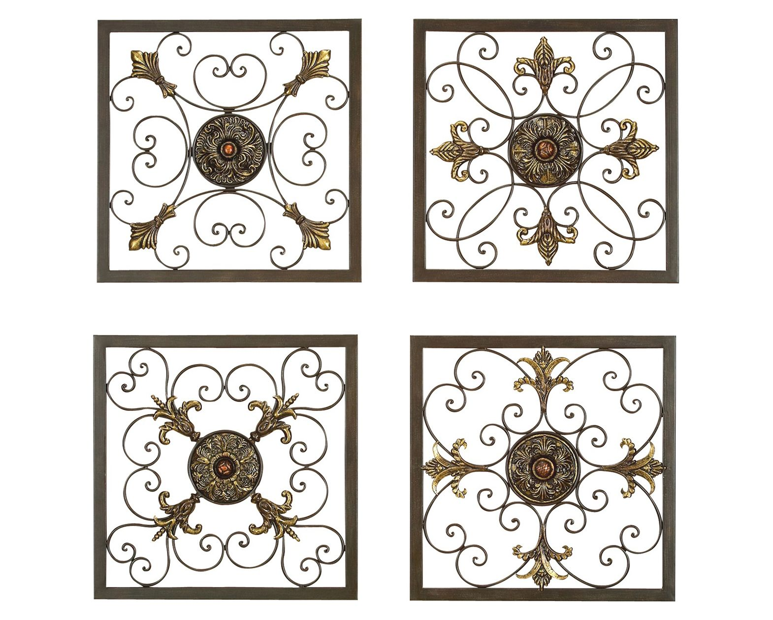 Iron Decorative Wall Pieces Material Metal Weight 14Lbsmounting Hardware Hanging Keyhole