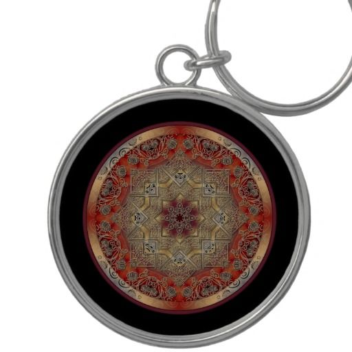 Mandala Keychains