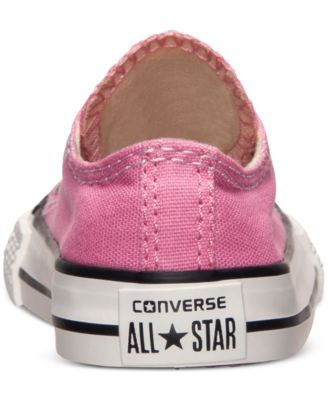 b0f8e890d28f Converse Toddler Girls  Chuck Taylor Original Sneakers from Finish Line - Finish  Line Athletic Shoes - Kids   Baby - Macy s