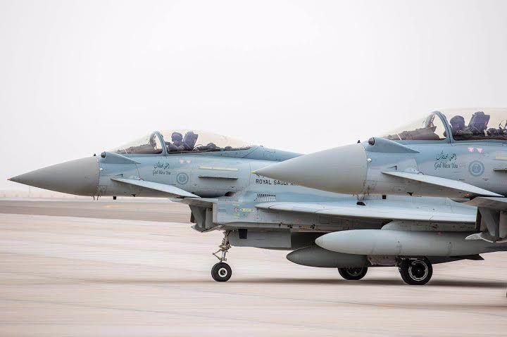 التايفون السعودية تبهر العالم في علم الصحراء وتختتم مشاركتها بالإمارات Fighter Jets Fighter Site