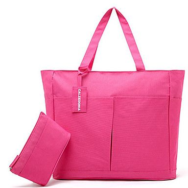 Sweet+Large+Capacity+Waterproof+Beach+Picture+Tote+With+Wallet+–+USD+$+11.99